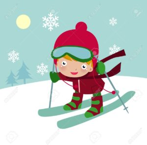 8887115-Illustration-of-a-cute-boy-with-red-hat-skiing-Stock-Vector-ski-winter-cartoon